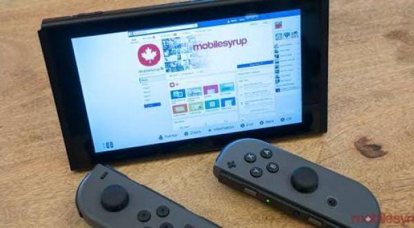 Nintendo Switch de gizli İnternet Tarayıcısı!