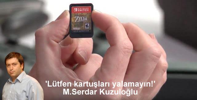 Nintendo Switch için 'Lütfen Kartuşları Yalamayın!' M.Serdar Kuzuloğlu