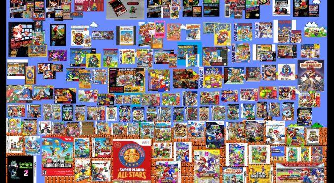 Super Mario nun yıllar içinde değişimi!