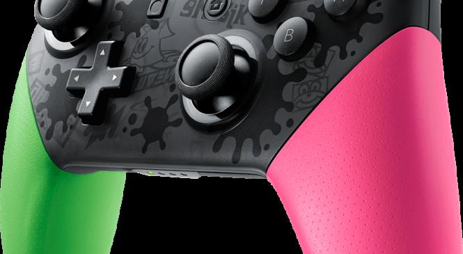 Nintendo Switch için Splatton 2 temalı aksesuarlar yolda!