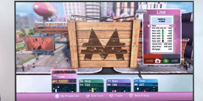 Monopoly Nintendo Switch için duyuruldu