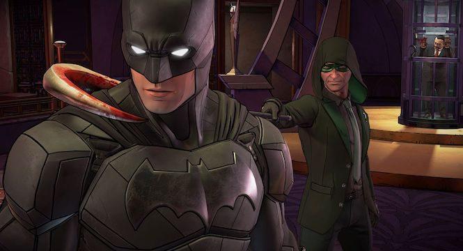 Batman The Enemy Within Nintendo Switch için Yapılmaya başlanmış olabilir
