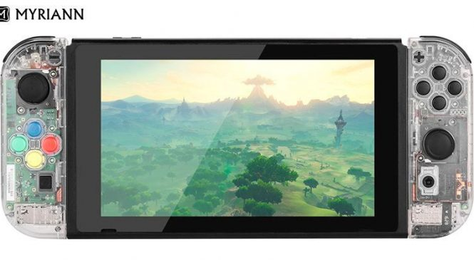 Nintendo Switch'ten Yeni Transparan Kasalar