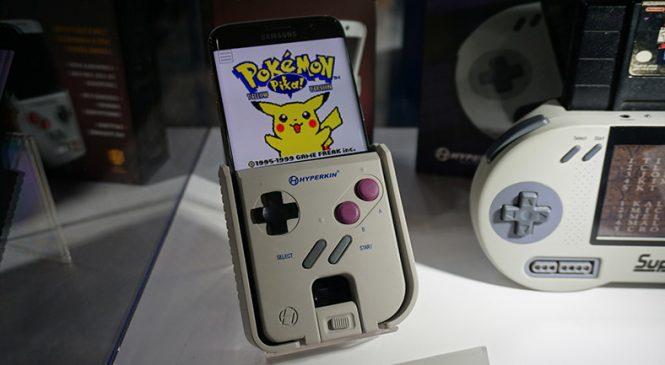 Android Telefonları Gerçek Bir Game Boy'a Çeviren Alet