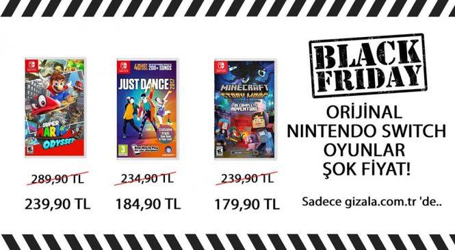 Nintendo Switch Oyunlarında Black Friday İndirimleri !