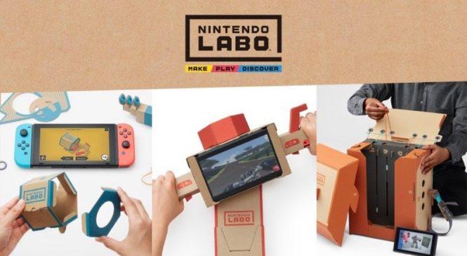 Nintendo Labo ile Nintendo Switch ler daha eğlenceli olacak!