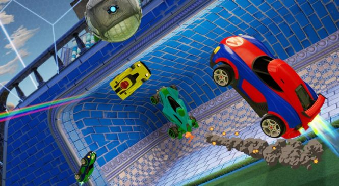 Nintendo Switch e Rocket League yaması geliyor!