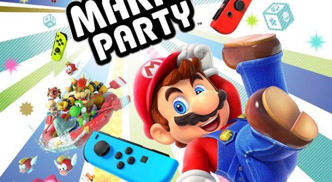 Super Mario Party Switch e geliyor!