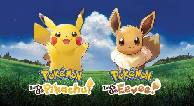 Pokemon Let's Go Pikachu ve Eevee Ürünleri Şimdi Satışta!