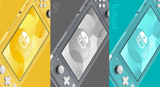 Yeni Nintendo Switch Lite Geliyor!