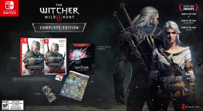 Merakla beklenen The Witcher 3 Nintendo Switch'e çıktı!