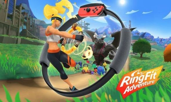 Ring Fit Adventure Nintendo Switch için Satışta!