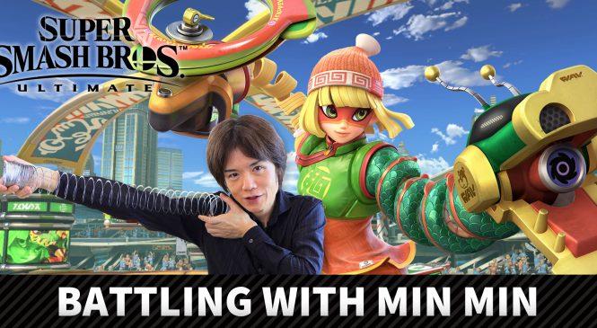 Yeni Karakter Min Min 30 Haziran'da Super Smash Bros. da!