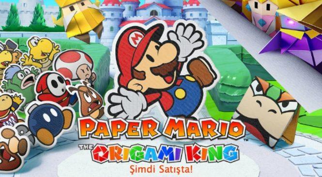 Paper Mario The Origami Nintendo Switch Oyunu Çıktı!