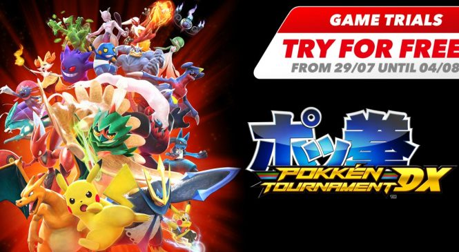 Pokkén Tournament DX Nintendo Switch Oyunu Bedava!