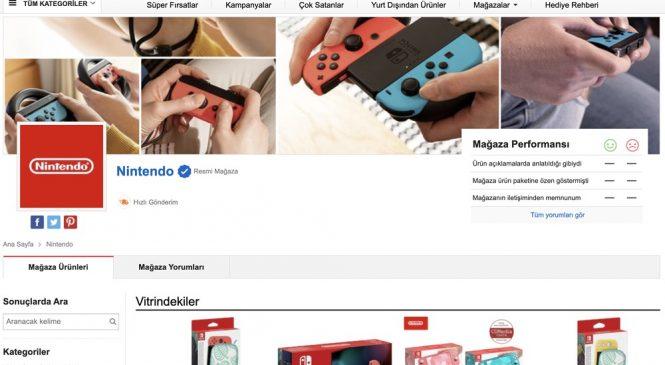 Nintendo Resmi Satış Mağazası n11.com'da açıldı!