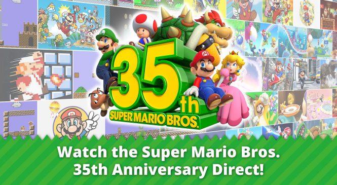 Super Mario Bros. 35th Anniversary Direct bomba gibi açıklandı!