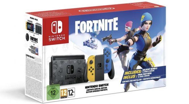 Avrupa için Nintendo Switch Fortnite Limited Versiyonu Açıklandı!