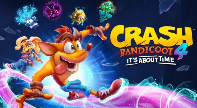 Crash Bandicoot 4 It's About Time Satışta!