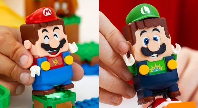 Lego Super Mario with Luigi Duyuruldu!