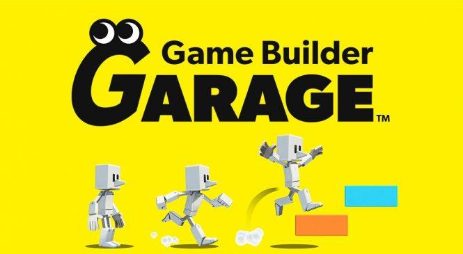 Nintendo'dan Bir Yenilik Daha: Game Builder Garage!